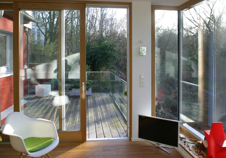 Wohnhauserweiterung br mmelhaus architektur for Hauser innenansicht